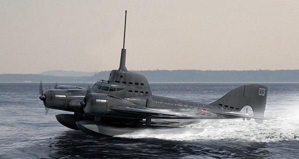 Советские самолеты могли не только воевать в небе, но и подводой