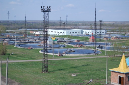 система очистных сооружений в городе Люберцы Московской области