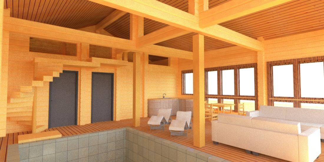 Вентиляция бассейна проект монтаж подбор оборудования стены бассейна из клееного бруса