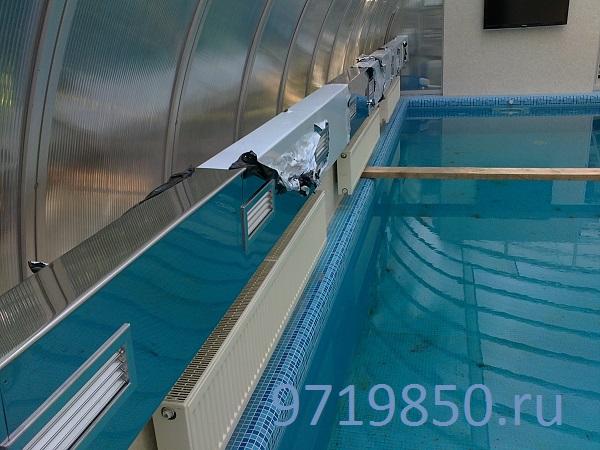 Как разместить воздуховоды в бассейне, фото