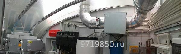 Система приточно-вытяжной вентиляции бассейна